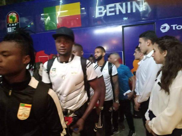 أمم أفريقيا 2019.. وصول بعثة منتخب بنين إستعدادآ لكان2019.