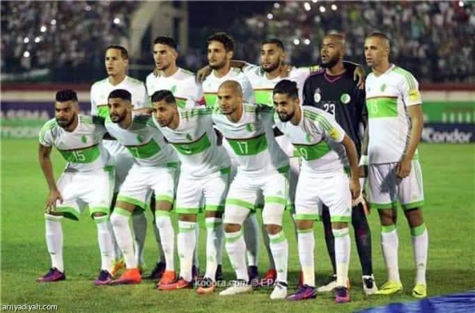 ملخص ونتيجة مباراة الجزائر ضد مالي وديا