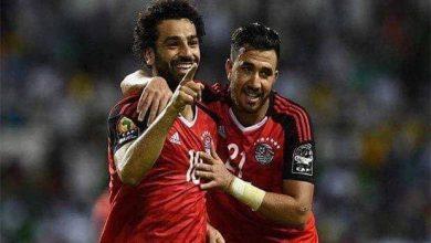 صورة مصر ضد الكونغو الديمقراطية.. الفراعنة ينهي الشوط الأول بالتقدم بهدفين
