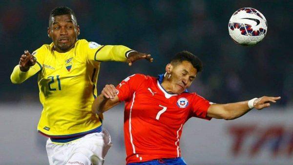 ملخص ونتيجة مباراة تشيلي ضد الإكوادور