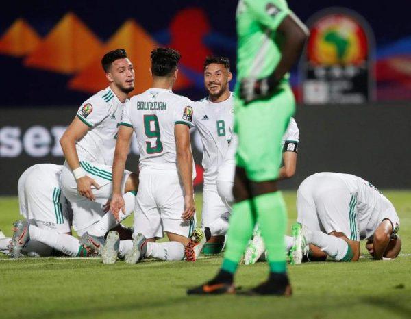 نتيجة وأهداف مباراة الجزائر ضد كينيا بكأس الأمم الأفريقية