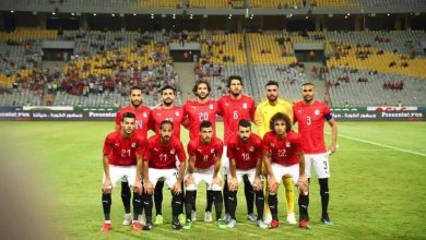 صورة تشكيل منتخب مصر ضد زيمبابوى بأمم أفريقيا 2019