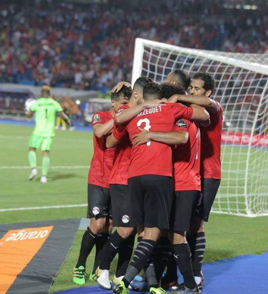 نتيجة وأهداف مباراة مصر ضد الكونغو الديمقراطية بكأس الأمم الأفريقية