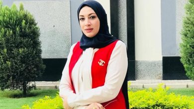 Photo of دينا الرفاعي مطلب اسرة الكرة النسائية