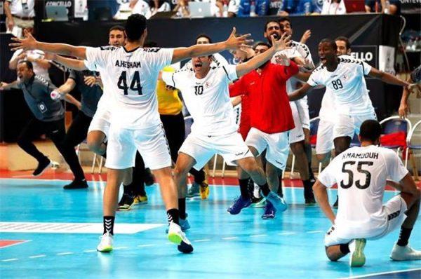 مشاهدة مباراة مصر كرة اليد وفرنسا بث مباشر 27-7-2019