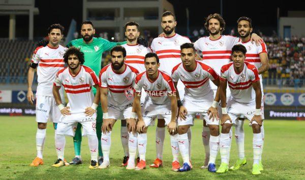 نهائي كأس مصر .. تشكيل الزمالك لمباراة بيراميدز