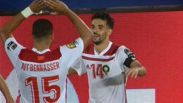 ملخص وأهداف مباراة المغرب ضد جنوب أفريقيا بأمم أفريقيا 2019
