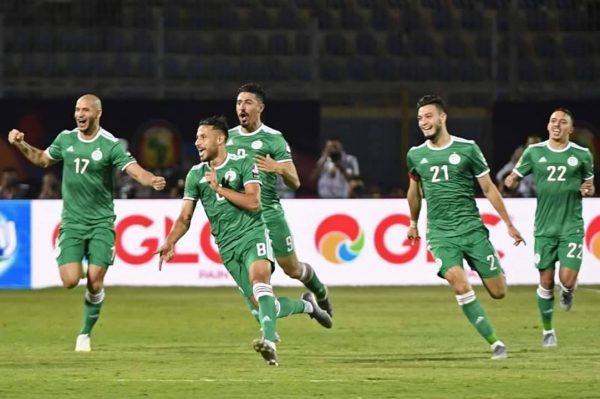 نتيجة مباراة الجزائر ضد غينيا بكأس الأمم الأفريقية 2019
