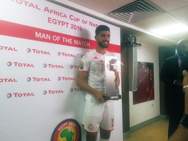 فرجاني ساسي أفضل لاعب بمباراة مدغشقر وتونس