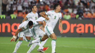 صورة ملخص ونتيجة مباراة الجزائر والسنغال بكأس الأمم