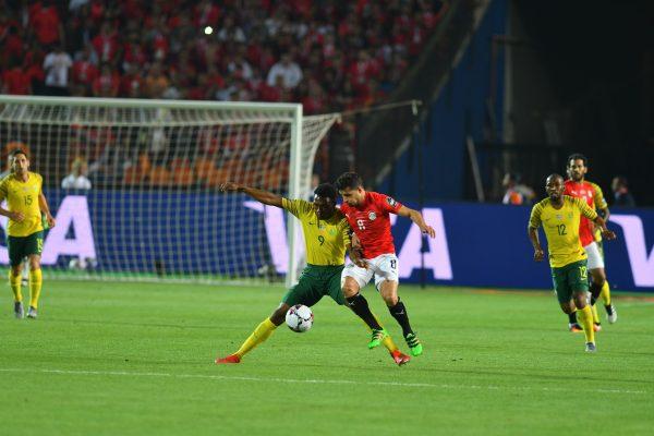 نتيجة مباراة egypt vs south Africa الشوط الأول