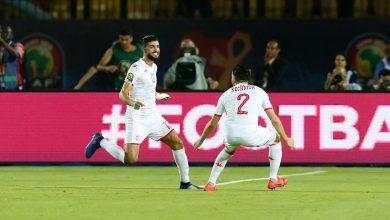 هدف فرجاني ساسي في مباراة تونس ومدغشقر
