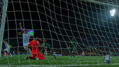 "Photo of أهداف مباراة الجزائر ونيجيريا "" الشوط الأول"""