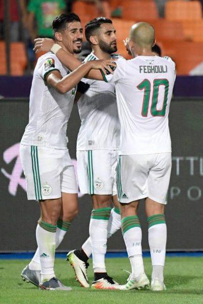 أهداف مباراة الجزائر ونيجيريا بنصف نهائي أمم أفريقيا 2019