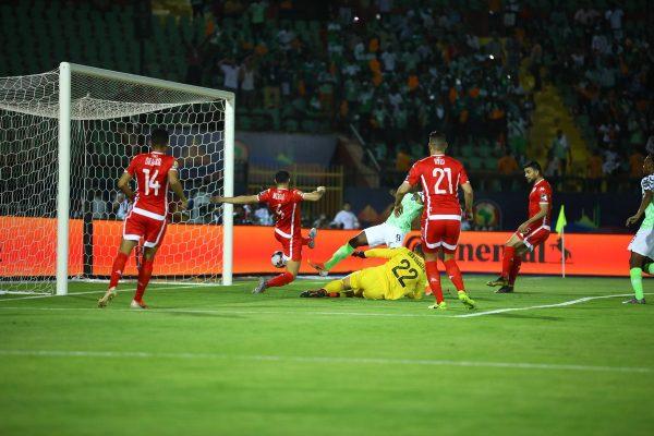 هدف نيجيريا ضد تونس في أمم أفريقيا 2019
