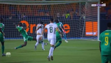 Photo of أهداف مباراة الجزائر والسنغال 1/0 بغداد بونجاح