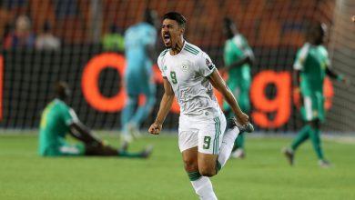صورة نهائي أمم أفريقيا 2019 Senegal vs Algeria نهاية الشوط الأول