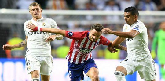 ملخص وأهداف مباراة ريال مدريد وأتلتيكو مدريد الودية