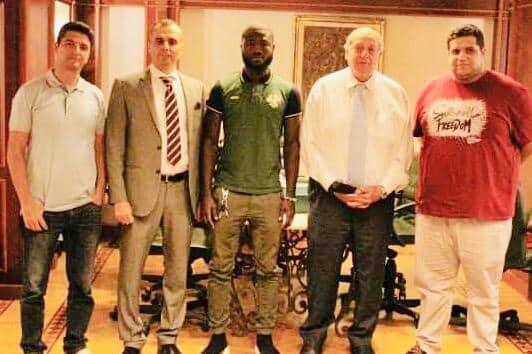 إيدو موسيس ينتقل إلى مصر المقاصة 4 سنوات