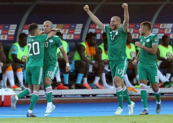 ملخص وأهداف مباراة الجزائر ضد كوت ديفوار