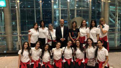 Photo of بعثة ناشئات منتخب مصر للجمباز الايقاعي إلى بطولة العالم