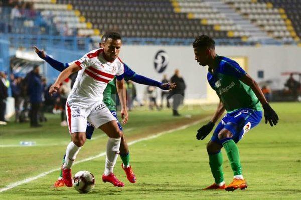 الزمالك ضد مصر المقاصة.. موعد المباراة وقائمة الفريقين