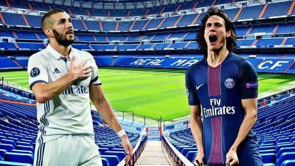 موعد مباراة باريس سان جيرمان وريال مدريد والقنوات الناقلة