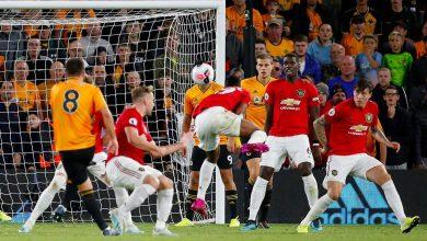 صورة ملخص ونتيجة مباراة ولفرهامبتون ومانشستر يونايتد في الدوري الإنجليزي