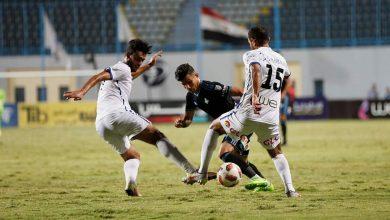 صورة أهداف مباراة بيراميدز وحرس الحدود في ثمن نهائي كأس مصر