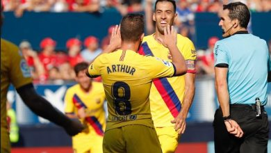 صورة ترتيب الدوري الإسباني عقب تعادل برشلونة أمام أوساسونا