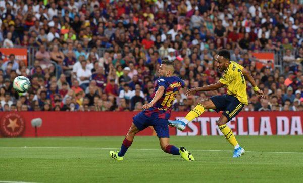 ملخص ونتيجة مباراة برشلونة ضد أرسنال الإنجليزي في كأس خوان جامبر