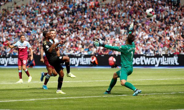 أهداف مباراة مانشستر سيتي ووست هام يونايتد بالدوري الإنجليزي
