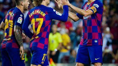 Photo of أهداف جريزمان اليوم مع برشلونة ضد ريال بيتيس