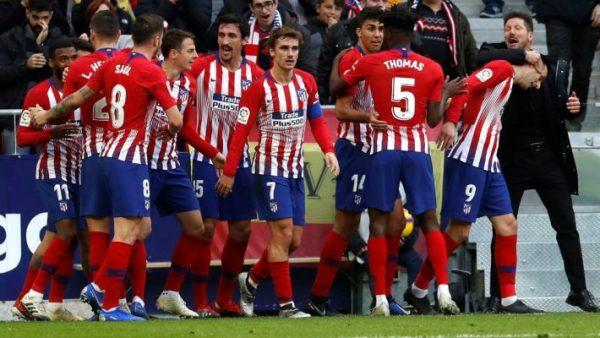 ملخص ونتيجة مباراة أتلتيكو مدريد ضد إيبار
