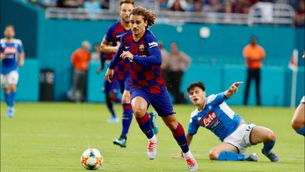 مشاهدة مباراة برشلونة ونابولي بث مباشر 10-8-2019