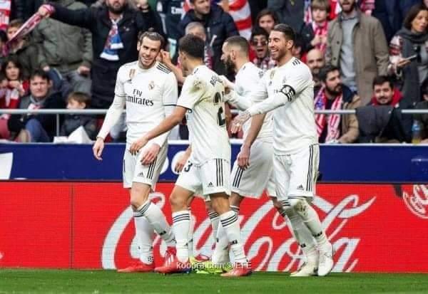 نتيجة واهداف مباراة ريال مدريد ضد بلد الوليد