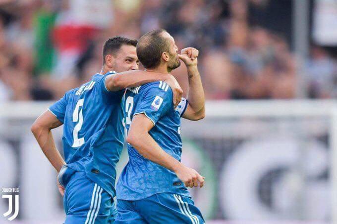 نتيجة واهداف مباراة اليوفنتوس ضد بارما.