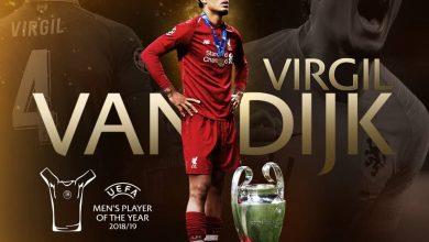 Photo of رسمياً ..فان دايك يتوج بأحسن لاعب في أوروبا