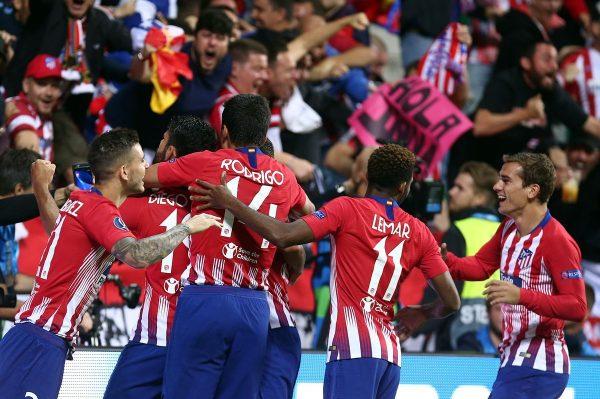 ملخص ونتيجة مباراة أتلتيكو مدريد ضد ريال بلد الوليد