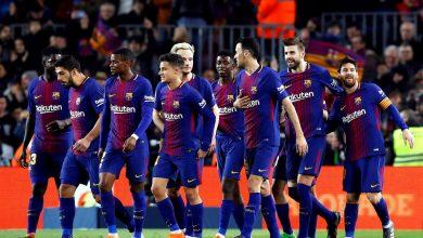 ملخص ونتيجة مباراة برشلونة ضد إنتر ميلان