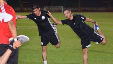 Photo of عاشور والبنا يخضعان لاختبارات اللياقة مع البنات