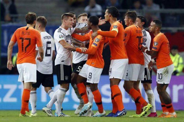 فيديو.. أهداف مباراة ألمانيا ضد هولندا بتصفيات أوروبا