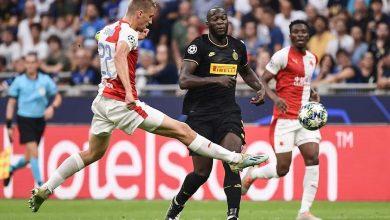 نتيجة مباراة إنتر ميلان ضد سلافيا براج في دوري أبطال أوروبا