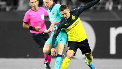 نتيجة مباراة برشلونة ضد بوروسيا دورتموند في دوري أبطال أوروبا