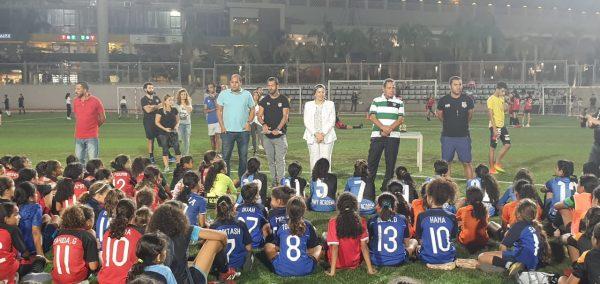 مهرجان لبراعم الكرة النسائية بمشاركة 300 لاعبة