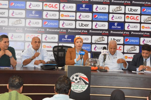 اجراء قرعة دوري الكرة النسائية لأندية القسم الأول