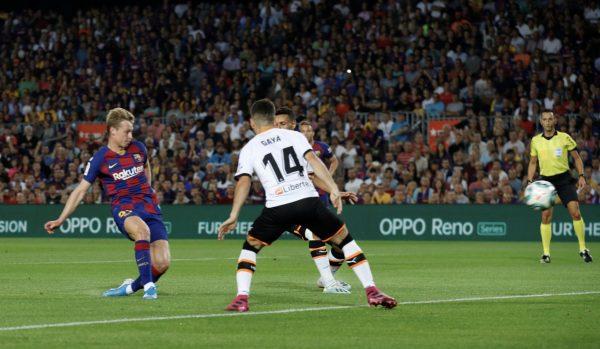 ملخص ونتيجة مباراة برشلونة وفالنسيا في الدوري الإسباني