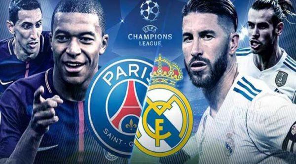 مشاهدة مباراة باريس سان جيرمان وريال مدريد بث مباشر 18-9-2019