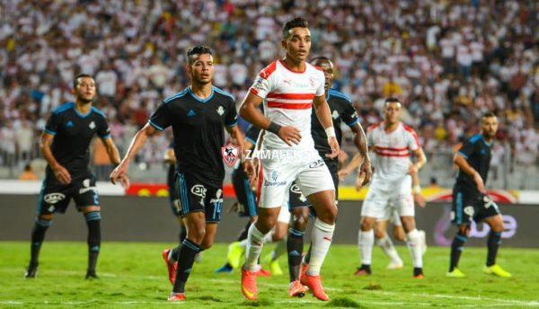 قائمة الزمالك لمباراة بيراميدز في الدوري المصري