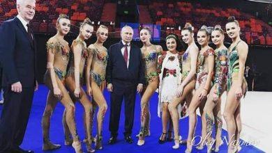 Photo of بوتين يدعم الجمباز الروسي قبل بطولة العالم